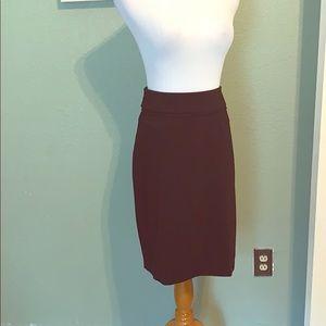Timeless black pencil skirt